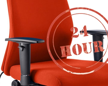 24hr Fabric Office Chairs