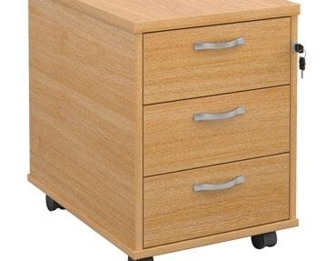 3 Desk Drawers
