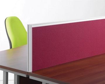 Aluminium Desk Screens