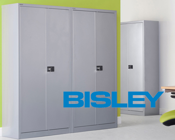 Bisley office cupboards
