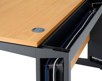 Cable Managed Desks