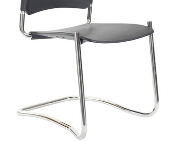 Cantilever Polyurethane Chairs