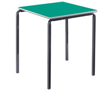 Square crush bent tables