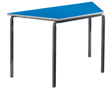 Trapezoidal crush bent tables