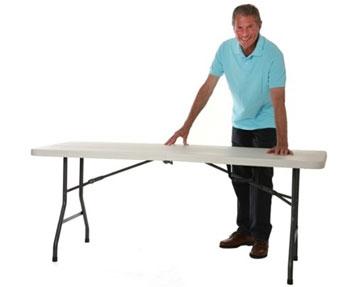 Centre Fold Folding Tables