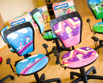 Childrens operator chairs