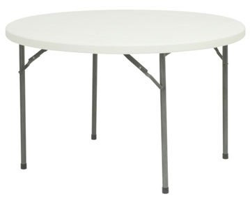 Circular Folding Tables