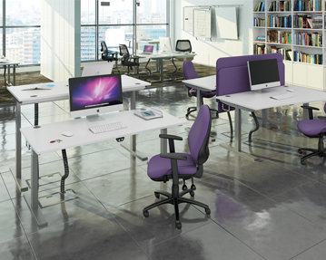 Height adjust desks
