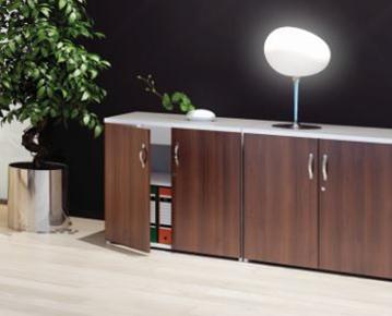 Desk High Cupboards