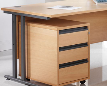 Desk pedestals