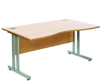 Double Wave Desks