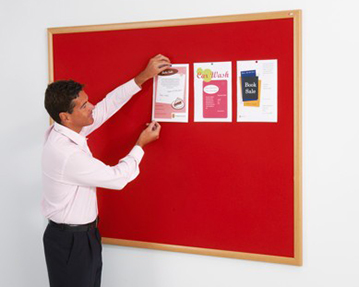Eco friendly noticeboards