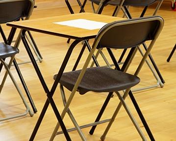School Exam Folding Tables