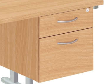 Fixed Desk Drawers