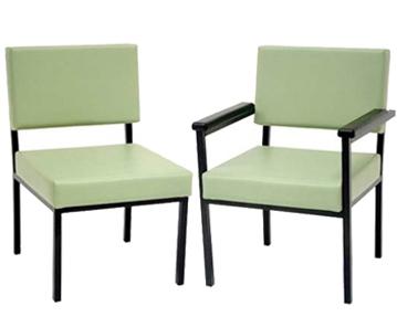 Vinyl seating