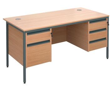 H Frame Desks