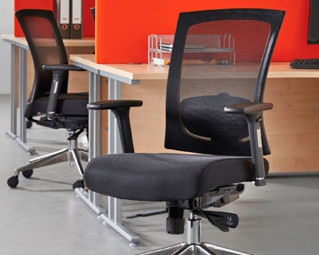 Mesh Back Meeting Chairs