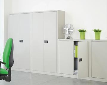 Metal Office Cupboards