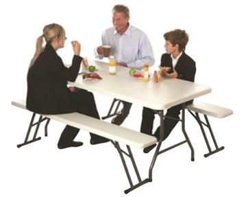 Plastic Top Tables