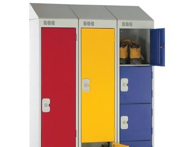 Deluxe Sloping Top Lockers