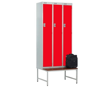 Stand & Seat For Lockers