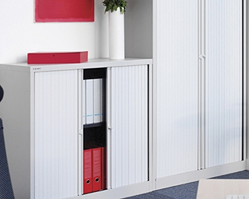 Metal Tambour Door Cupboards