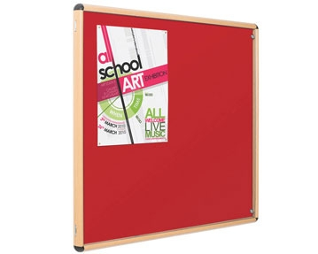 Wood Effect Noticeboards