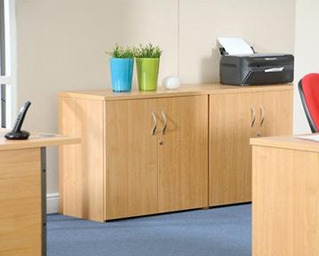 Wood Office Cupboards