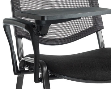 Writing Tablet Mesh Chairs