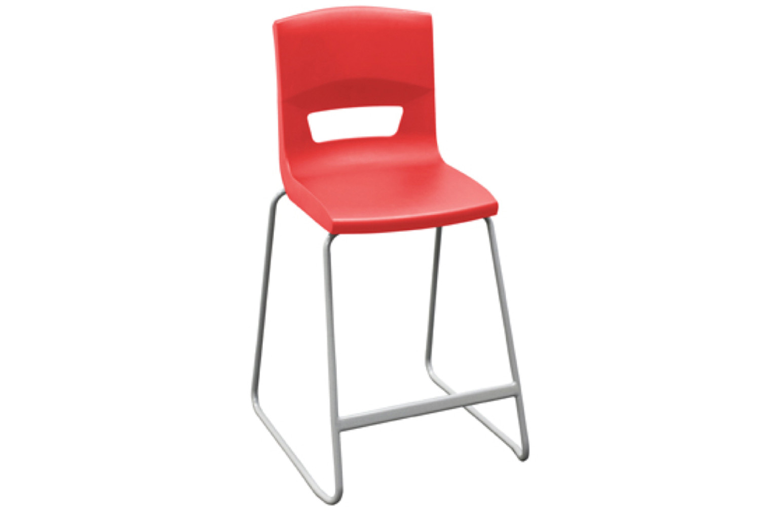 10 X White High Classroom Chair. Find Loads More Colours, Materials & Styles Online - Buy Office Furniture Online