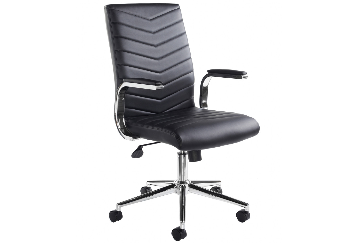 Martinez executive leather faced chair