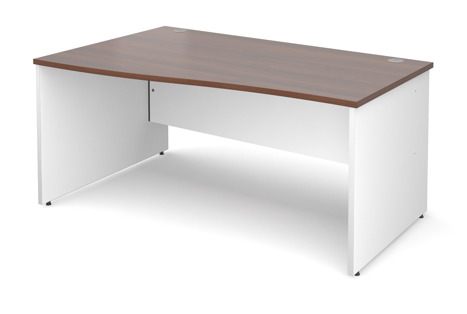 Duo left hand wave desk