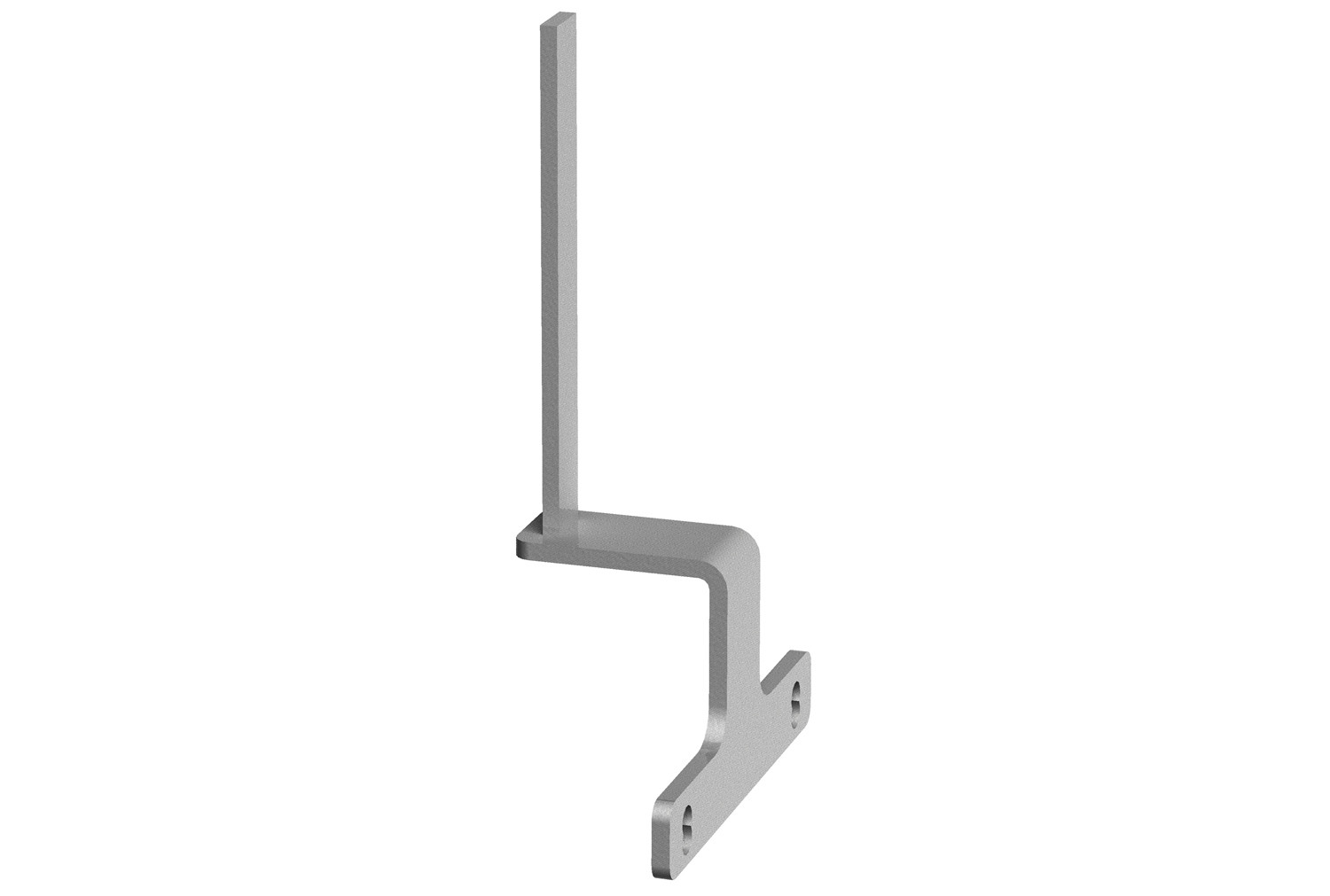 Desk end bracket for back to back bench desktop screens