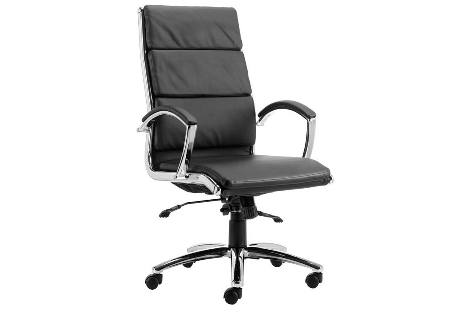 Andorra high back leather faced executive chair