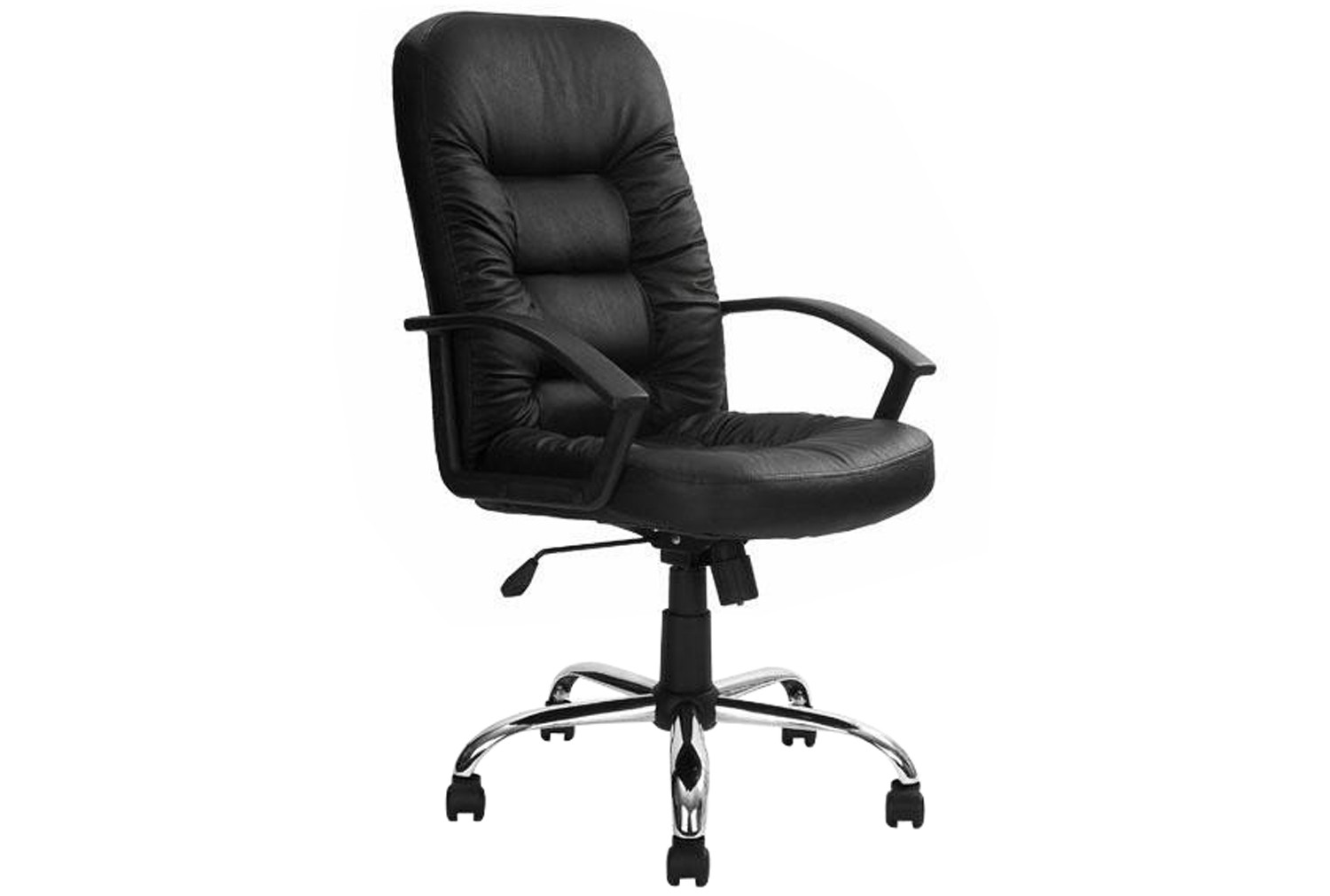 Bartlett executive leather faced chair