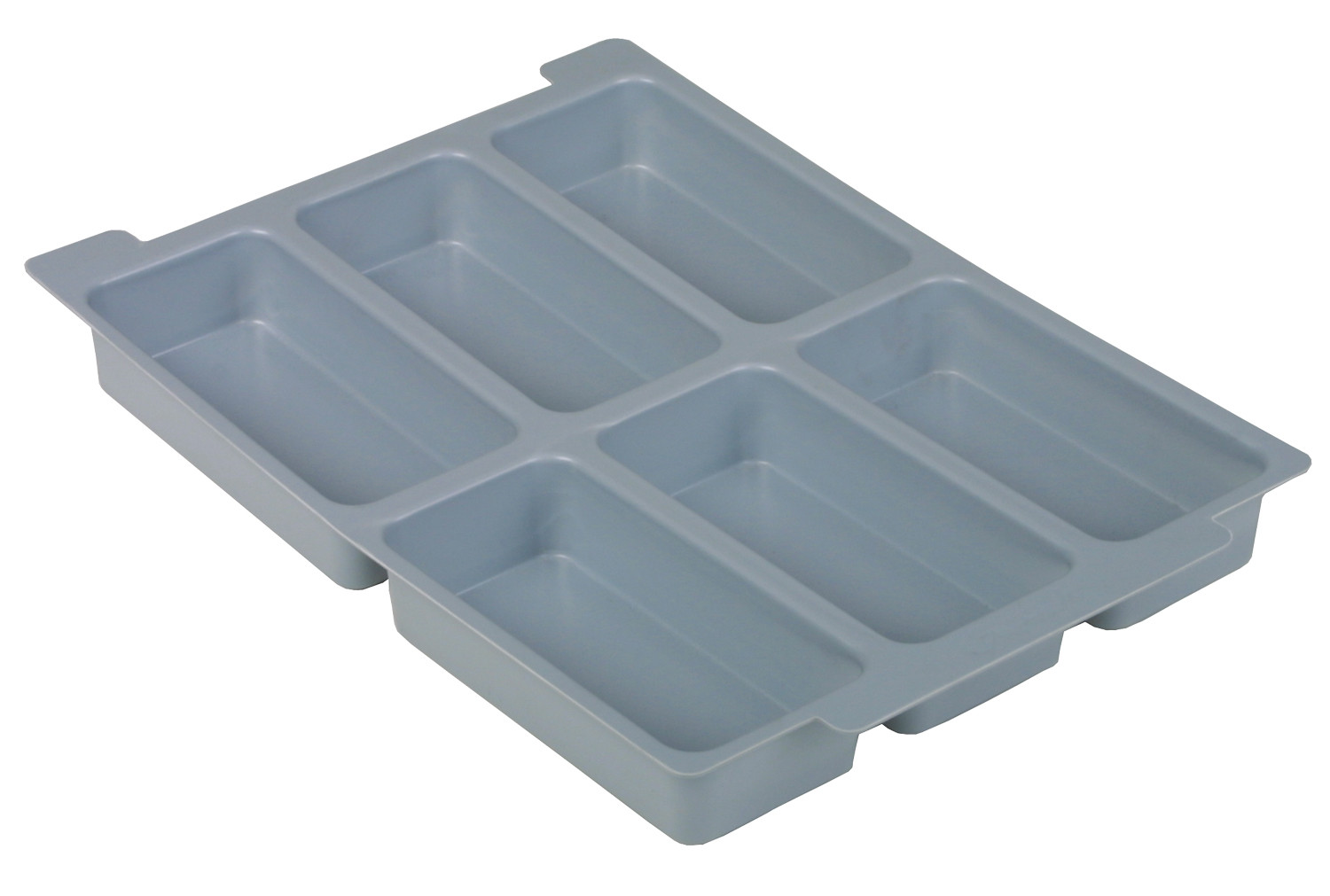 6 compartment insert for Gratnell shallow trays