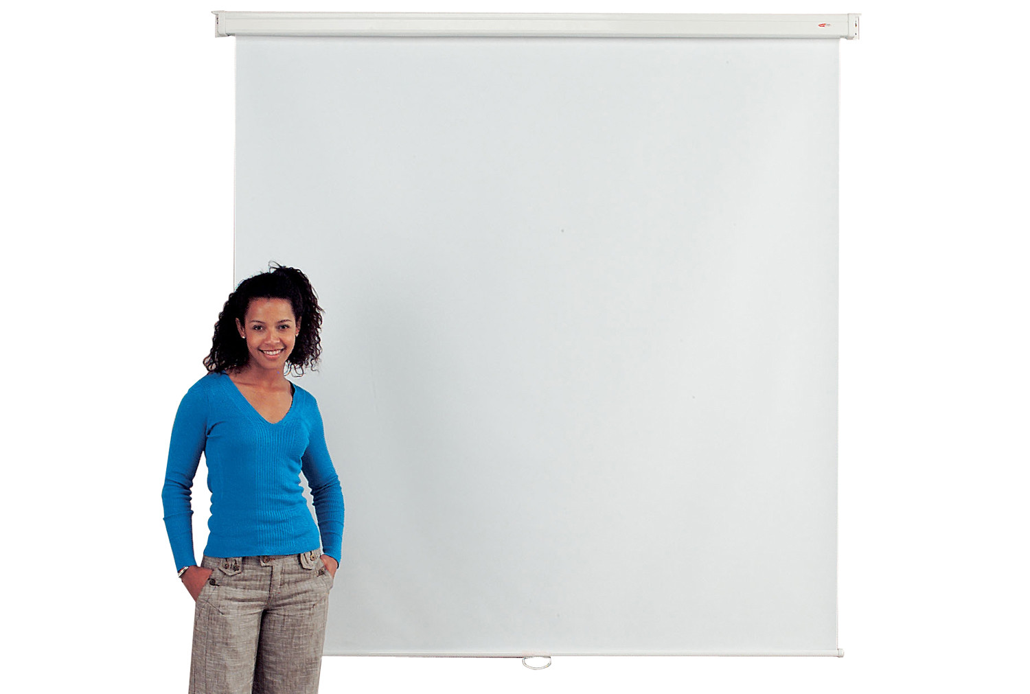 Economy projection screens