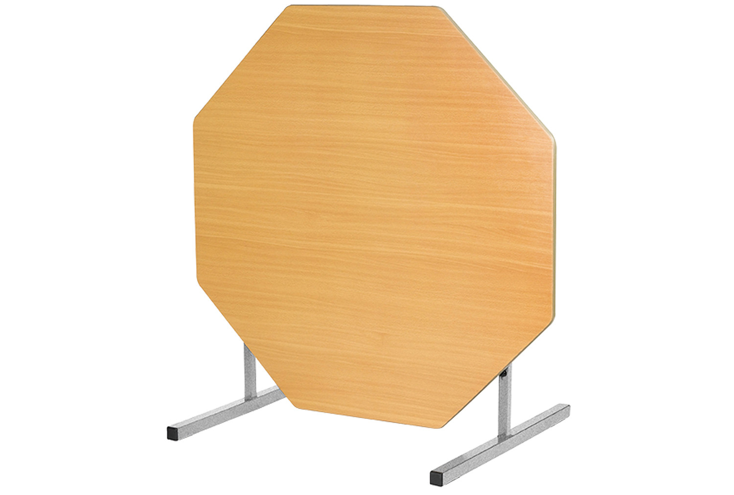 Octagonal tilt top tables