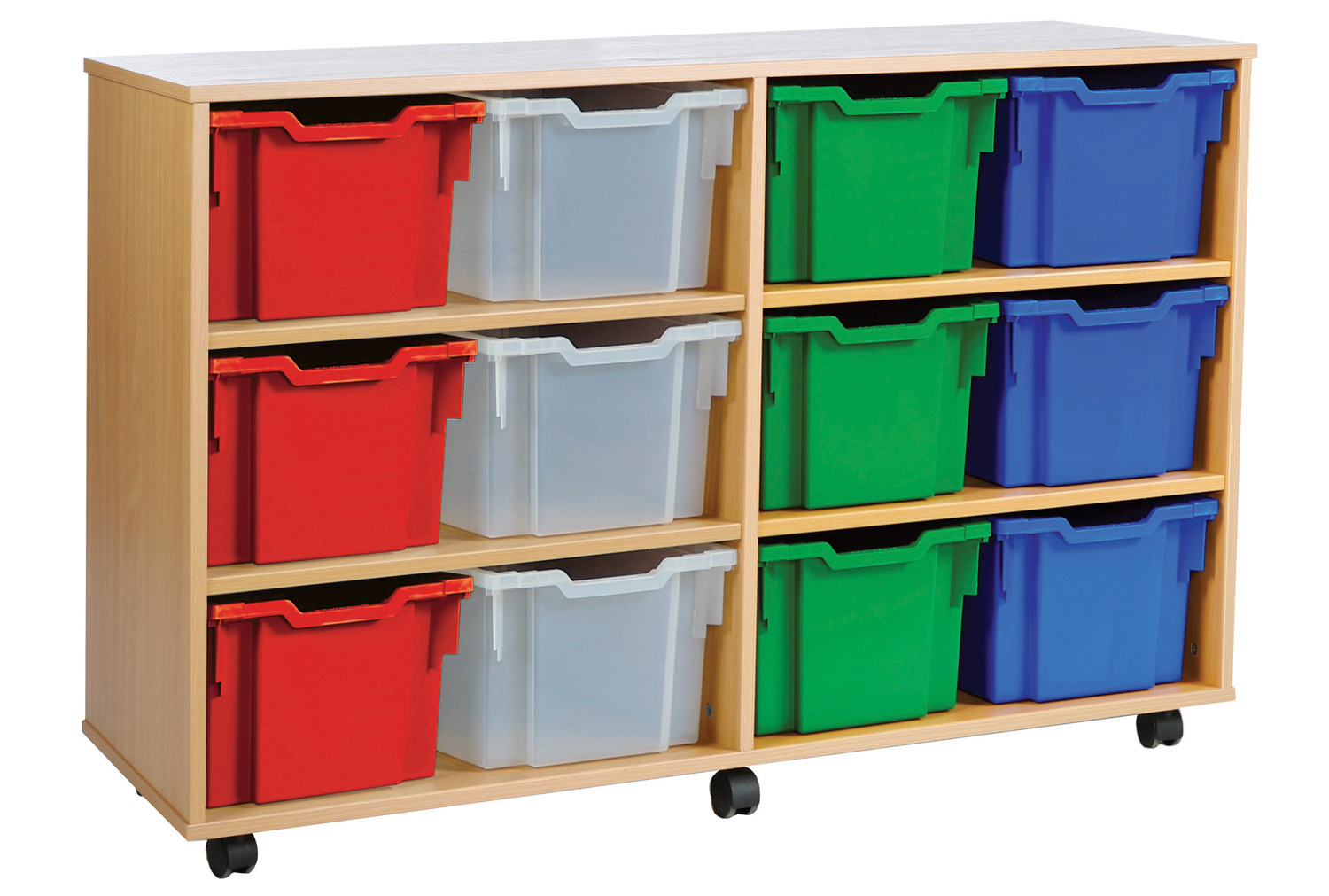 12 extra deep tray storage unit