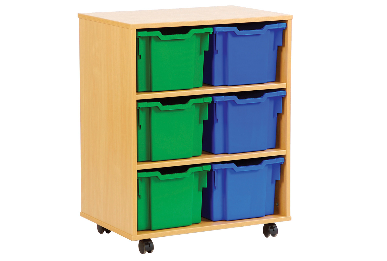 6 Jumbo Tray Storage Unit. Find Loads More Colours, Materials & Styles Online - Buy Office Furniture Online