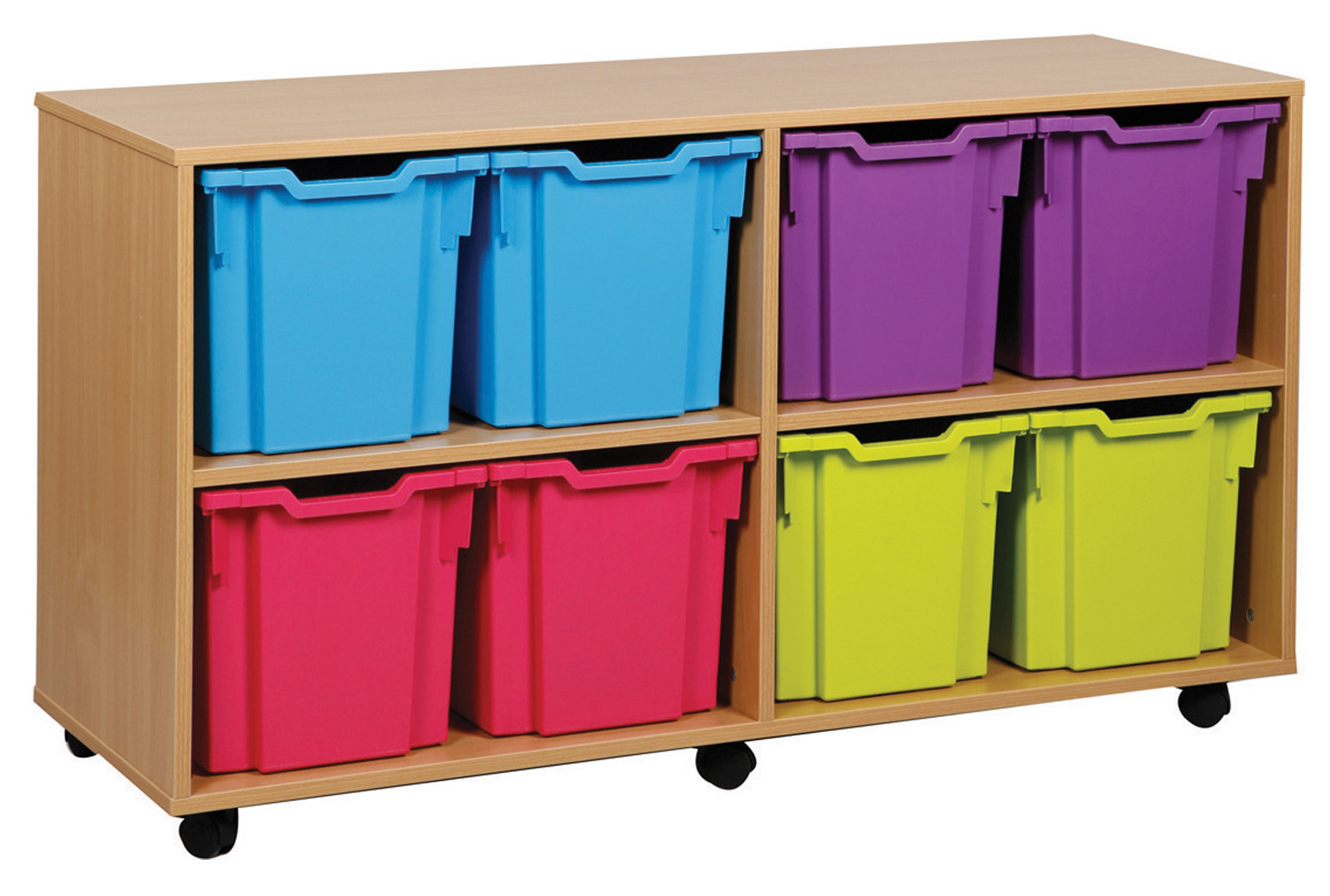 8 Jumbo Tray Storage Unit. Find Loads More Colours, Materials & Styles Online - Buy Office Furniture Online