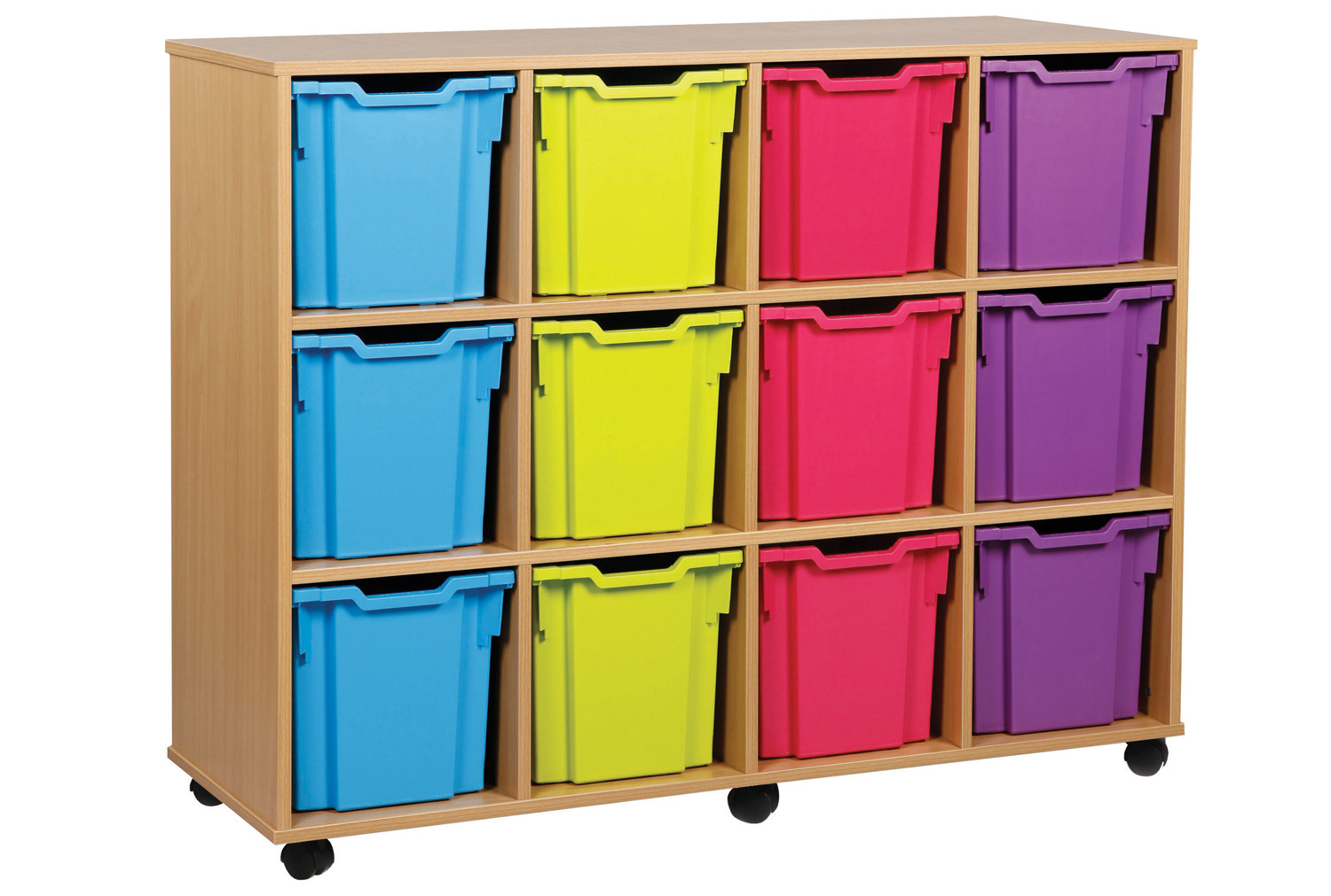 12 Jumbo Tray Storage Unit. Find Loads More Colours, Materials & Styles Online - Buy Office Furniture Online
