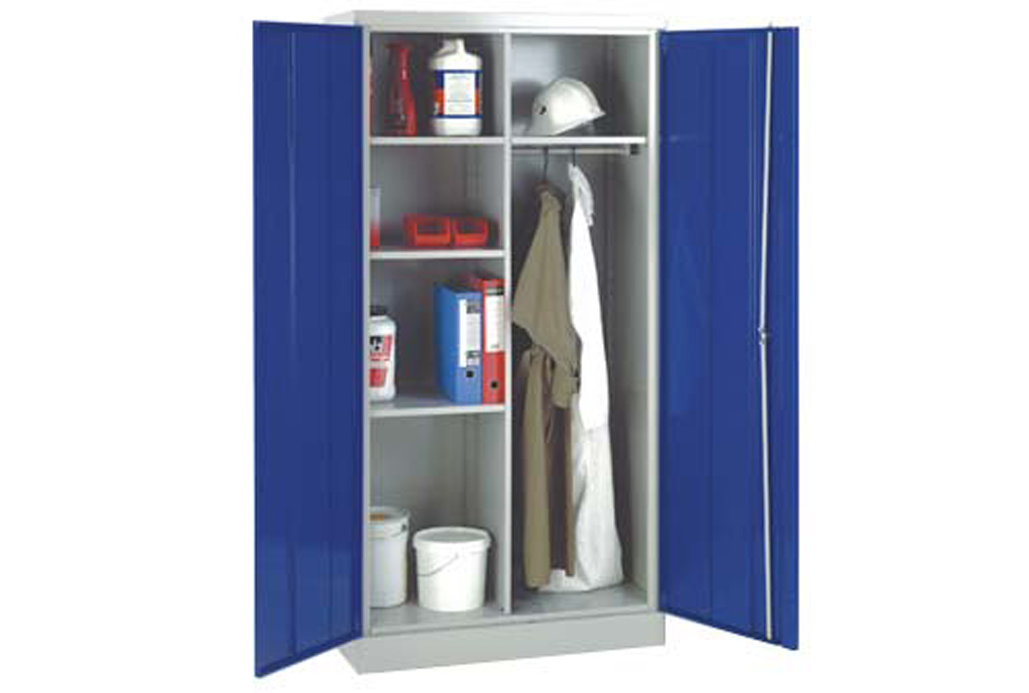 Heavy duty janitorial cupboard