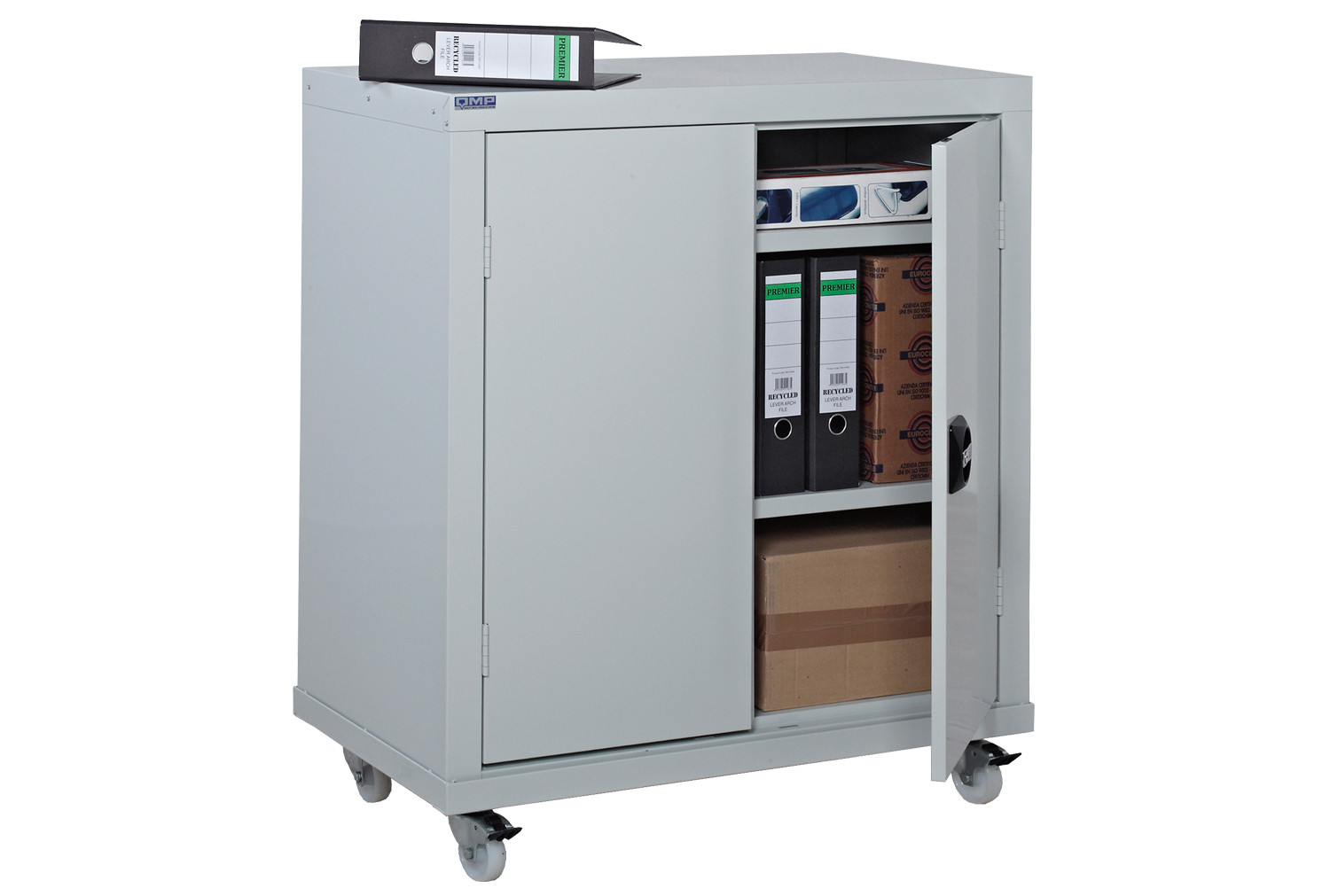 Mobile workplace security cupboard