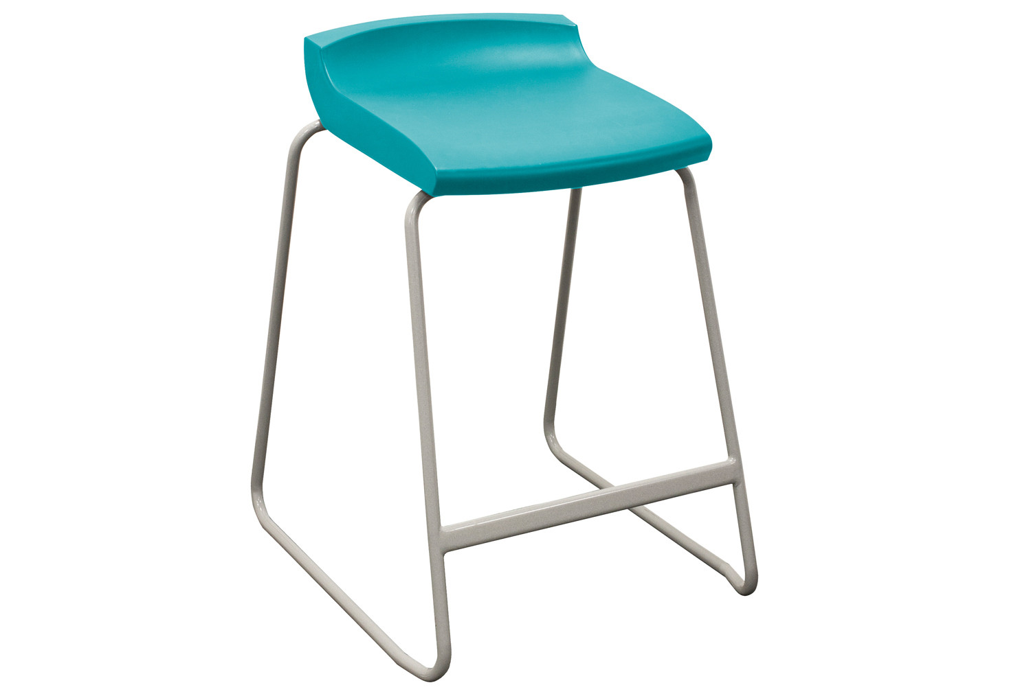 10 X Green Classroom Stool. Find Loads More Colours, Materials & Styles Online - Buy Office Furniture Online