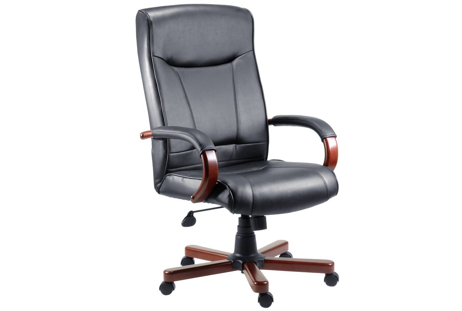 Knightsbridge executive chair mahogany/black