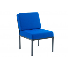 Metz steel framed reception chair