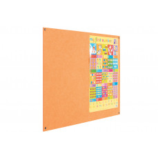 Eco-Colour Resist-A-Flame frameless noticeboards