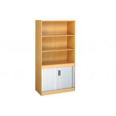Multi storage open top tambour cupboards
