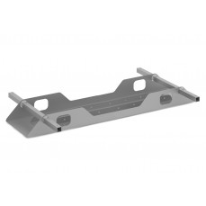 Union double cable tray